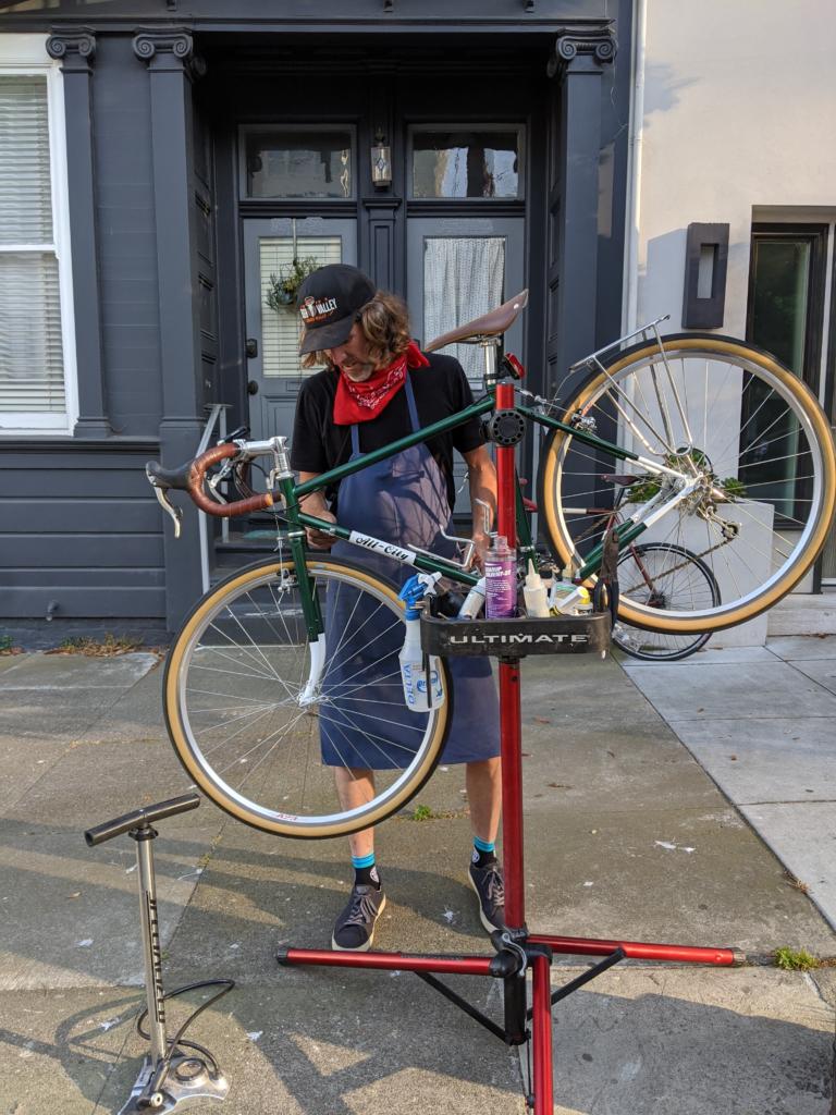 Owner Mobile Bike Repair Service
